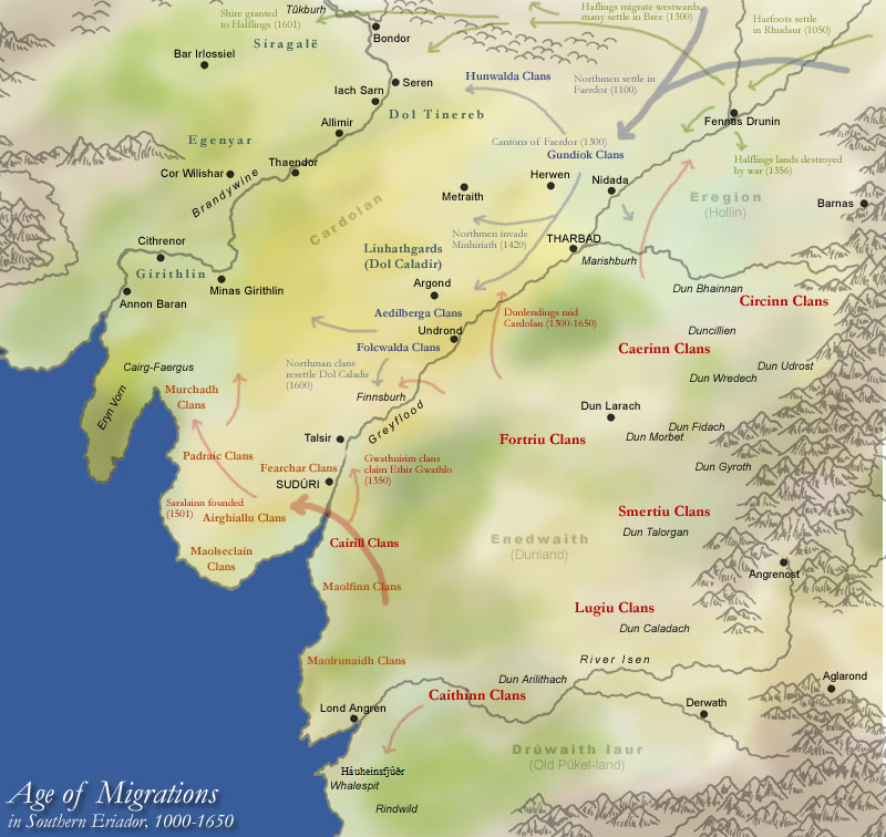 Download Full Map Of Middle Earth Third Age Images