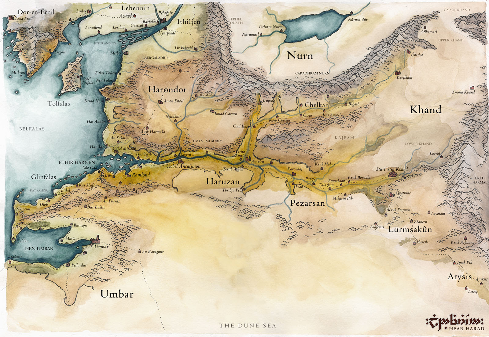 Lotr modifying middle earth page 2 httplindefirionmapsharnendorg gumiabroncs Gallery